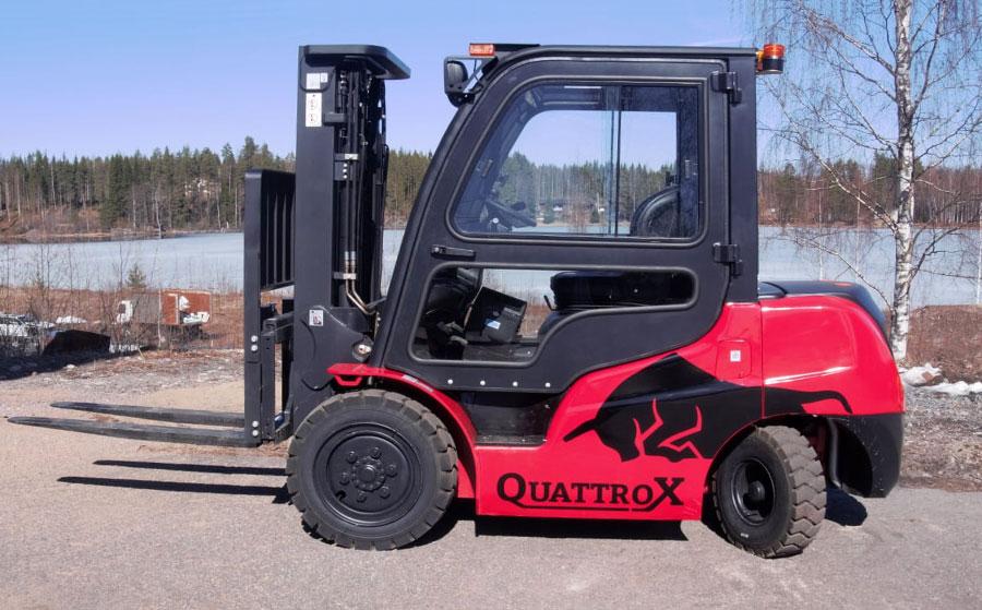 Quattrox-vastapainotrukki